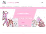 Cadeau licorne, pyjama licorne et accessoires