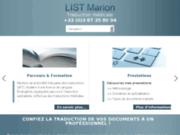 Traducteur médical - traduction médicale : LIST Marion