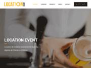 Location Event, des services de location de matériels HoReCa de qualité à Charleroi