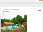 Location Lot, le domaine de Lauzies près de Cahors