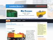 Mat'Essonne : Location de bennes
