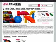 Achat de parapluies en ligne : Love Parapluie