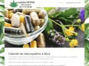 Cabinet de la naturopathe L. Pifferi à Nice