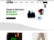 Lygo fabriquant d'objet pub écologique et équitable