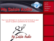 Secrétariat externalisé en travaux de dactylographie et saisie audio