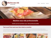 Machine sous vide : guide sur les machines sous vide