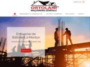 Ortolani Frères à Menton, entreprise du bâtiment