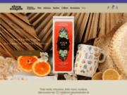 Vente de thés vert, noir, gourmands et infusions Maison Bourgeon