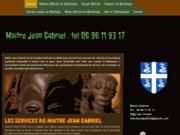 Le puissant maître Jean Gabriel à votre service