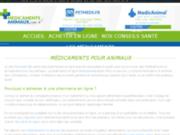 Conseils santé et médicaments animaux en ligne