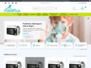 MEDIFLUX, vente de matériel respiratoire
