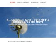 Cornet : service de pompes funèbres