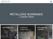 Fabrication d'ouvrages en inox avec la Métallerie Normande