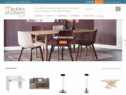 Achat de meubles, objets de décoration et de luminaires