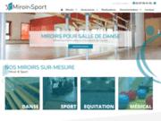 Miroir & Sport: Miroir pour Salle de Sport, Salle de Danse
