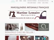 Sacs et accessoires en cuir fabriqués artisanalement en France par un artisan maroquinier