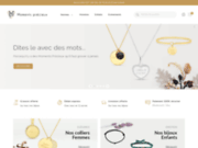 Vente de bijoux personnalisés chez Moments Précieux