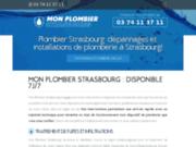 Entreprise de plomberie située à Strasbourg