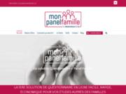 Mon Panel Famille : Enquête en ligne avec accès à un panel famille