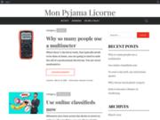 Pyjama Licorne - Boutique en ligne