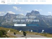 Moto dans les Pyrénées