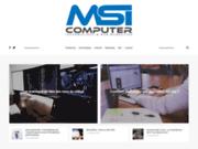 Toute l'actualité informatique avec MSI Computer