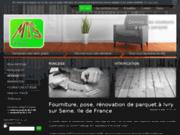 MTS Parquet : Entreprise de terrassement et installation de parquet vers Orléans