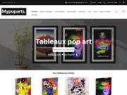 Mypoparts Boutique tableaux colorés