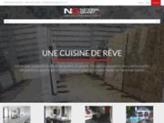 Comptoir de cuisine en quartz et granite à Québec