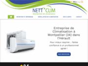 NETT'CLIM 34 à Montpellier votre spécialiste de la climatisation
