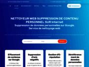 Trouver un cleaner du web pour supprimer vos données personnelles