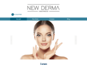 Site internet de New Derma
