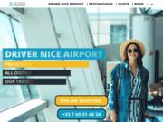 Compagnie avec chauffeur VTC à l'Aéroport de Nice