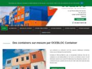 Ocebloc container : fabricant de conteneurs sur-mesure