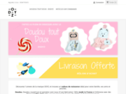 Boutique de doudous made in France et accessoires pour bébé Odyz