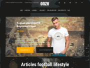 ONZE, marque mode orientée football chic