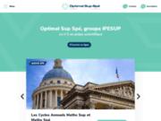 Optimal Sup Spé - Le numéro 1 en prépa scientifique