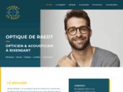 Magasin de vente des optiques et des lunettes à Rixensart