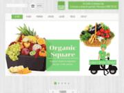 Organic Square votre leader  de vente des fruits et légumes bio avec une livraison à Marrakech
