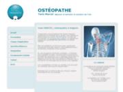 Ostéopathe en Avignon, Yann MARCEL