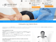Ostéopathe à Caen - Mehdi Helali