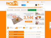 Packeos Fournisseur d'emballage alimentaire