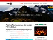 Paprika Tours, voyagiste au Pérou