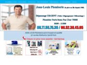 Jean-Louis Plomberie, artisan plombier à Paris 8