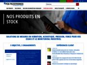 PCB Piezotronics, vos capteurs de mesure de grandeurs physiques