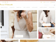 Site de bijoux fantaisie tendance Perrine & Antoinette
