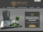 PERUCHETTI - entreprise de marbrerie funéraire à Guebwiller