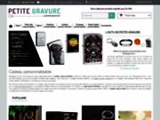 Petitegravure, boutique en ligne de personnalisation d'objets
