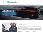 MDK Automobiles, agent Peugeot et station Total à Auneuil, dans l'Oise