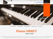 Boutique de pianos à Erpent, Namur